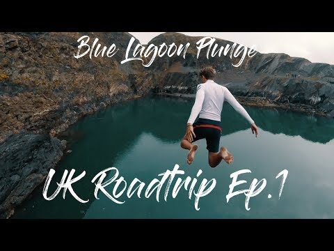BLUE LAGOON PLUNGE | UK Roadtrip Ep. 1