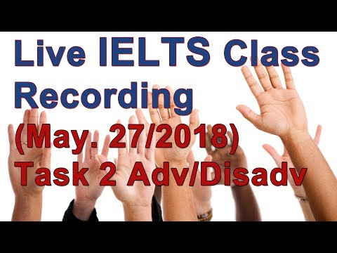 IELTS Task 2, Advantages outweigh disadvantages ex (sponsor-chat only)
