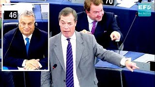 Nigel Farage destroys Eurocrats at the