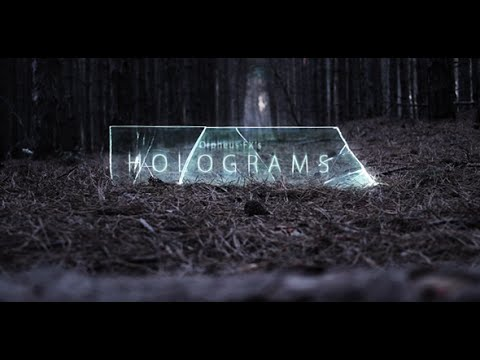Holograms - Titles Opener | After Effects template