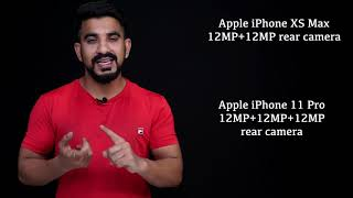 Apple iPhone 11 Pro vs iPhone XS and Apple iPhone 11 Pro Max vs iPhone XS Max: Comparison overview