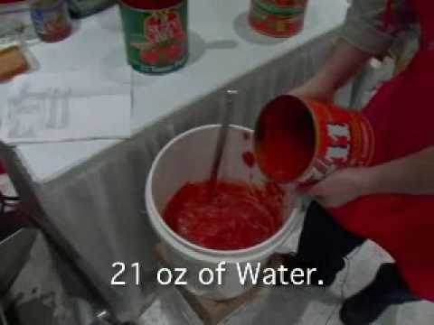How to make Chunky Pizza Sauce Part 1
