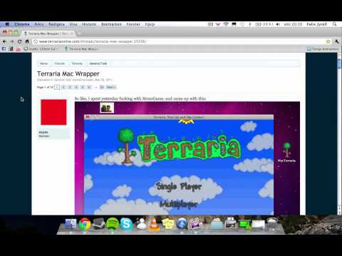 How to get Terraria on a mac easy