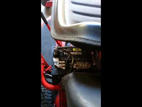 Lawn Mower Battery Terminals Getting Hot