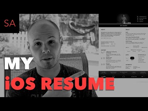 My iOS Developer Resume - Example and Review