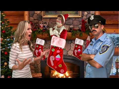Elf On The Shelf... In Real Life (Part 2)  A  Christmas