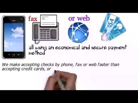 Fax Checks - Best Check Writing Software (818) 538-7885 - Accept Check By Fax