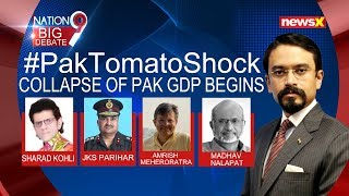 Collapse of Pakistan GDP Begins, woman wears Rs. 400/kg tomatoes as gold   NewsX