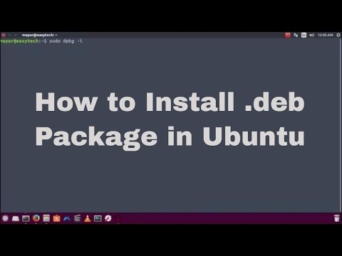 How to install package in Ubuntu using command line.