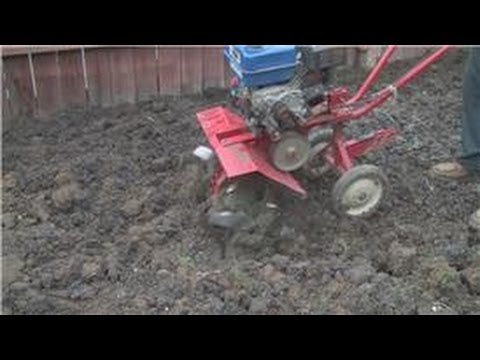 Lawn and Yard Help : How to Rototill a Lawn