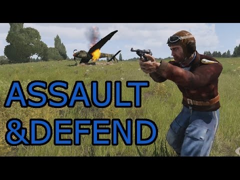 Assault and Hold: Arma 3 Zeus Gameplay German Iron Front Ops