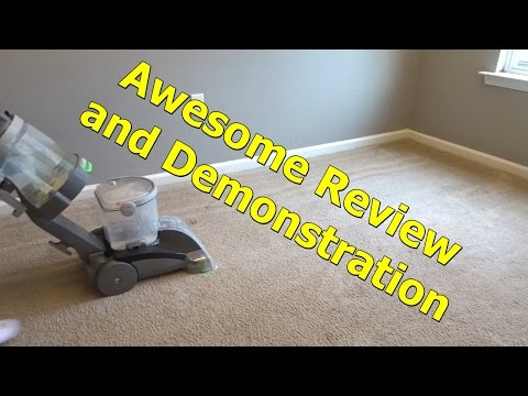 REVIEW and FULL DEMO Hoover Max Extract Dual V WidePath Carpet Cleaner F7412900