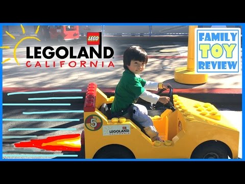LEGOLAND California Family Fun Amusement Park for kids Travel - Lego Theme Park Children Play Area