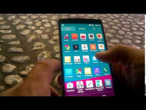 LG G4 taking a screenshot screencapture and short review