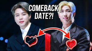 BTS COMEBACK DATE?! Valentine's Day? [THEORY]