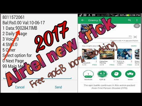 Airtel new trick  How To Get Free 90GB 100% working