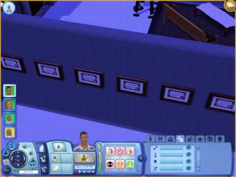 the first sim to have all mastered skills and mansion tour