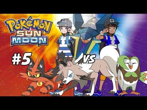 Grey Wind's Chance to Shine?! Vs Totem Vikavolt! Pokemon Sun and Moon Two Player Walkthrough #5