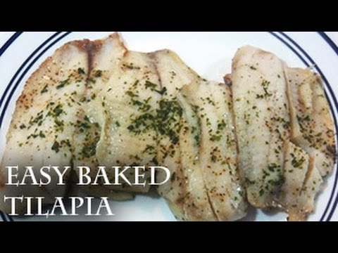 Easy Baked Tilapia (how to bake fish)