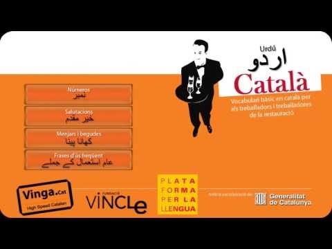 Learn Catalan - Catalan for Urdu waiters
