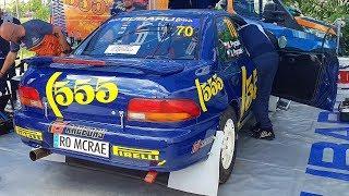Subaru Impreza 555 gr. A  Rally Poland 2019 ERC Michał Pryczek Jacek Pryczek service