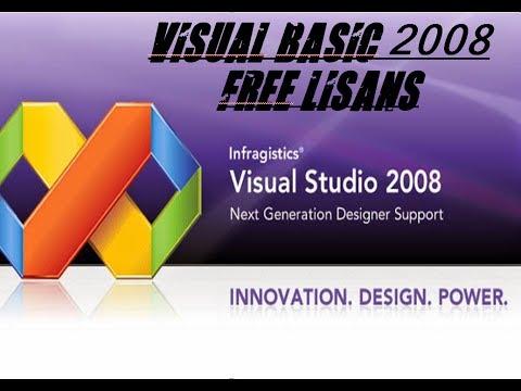 Visual Basic 2008 Free Lisans