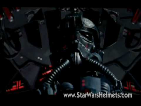 Original TIE Pilot Helmet Review from Star Wars - A New Hope