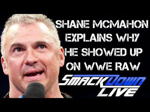 WWE Smackdown Live 10/24/17  Full Show Review & Results: SHANE MCMAHON FACE TO FACE WITH SAMI ZAYN
