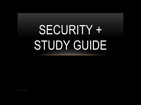 CompTIA SY0 401: Security + CIA