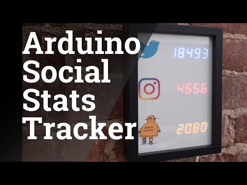 Becky Stern Explains Her Social Stats Tracker Display