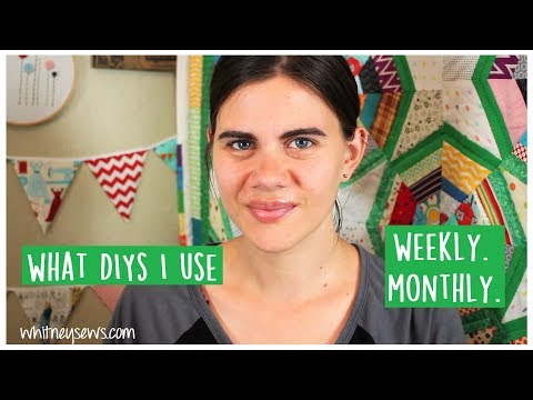 DIYs Used Weekly and Monthly! | Sewing Tutorials | Whitney Sews