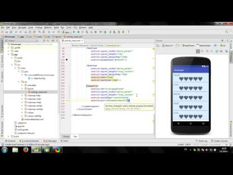 Develop simple Horoscope app in Android Studio