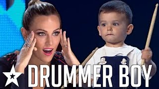 Brilliant BABY Drummer SHOCKS Everyone On Spain's Got Talent 2019!   Got Talent Global