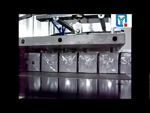 three dimensional transparent film wrapping machine for Multi boxes with tear tape
