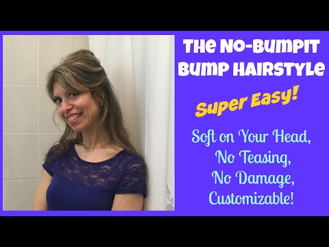 Easy Bump Hairstyle Tutorial