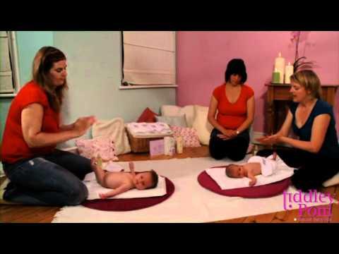 Baby massage: Tummy