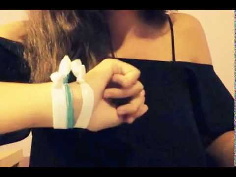 DIY : make your own hair tie like the Twistband's one
