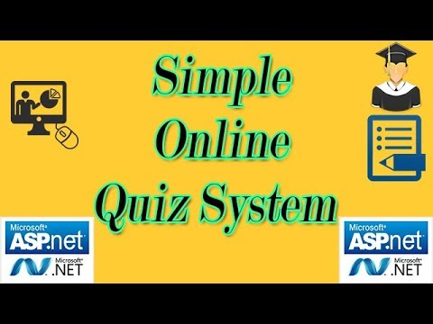 Simple Quiz System in asp.net using C#