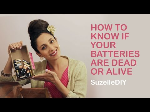 How to Know if your Batteries are Dead or Alive