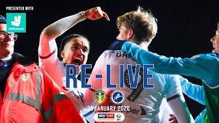 RE-LIVE   Leeds United 3-2 Millwall   EFL Championship   28 January 2020
