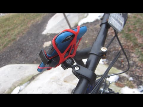 Smartphone Bike Mount by Aduro Review