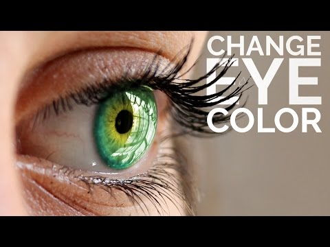 How to Change Eye Color in Photoshop in Hindi