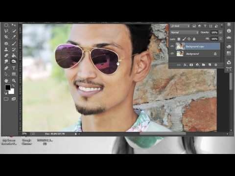 How to clear  face in Photoshop Tutorial
