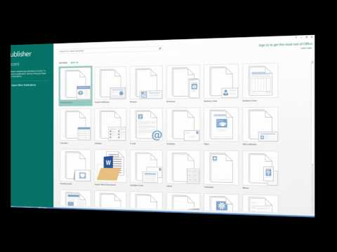 Download Microsoft Office PUBLISHER 2013 For FREE