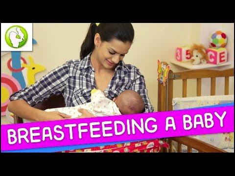 Breast Feeding a Baby