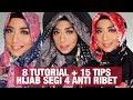 Download  8 Tutorial Hijab Segi Empat dan 15 Tips Hijab Motif Anti ribet | Savanna Mecca MP3,3GP,MP4