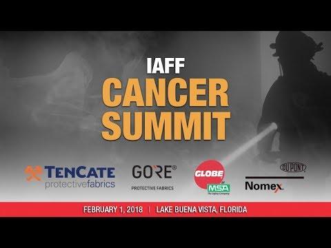 IAFF Cancer Summit: Morning Session
