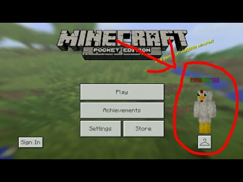 MCPE: How to put colors in your name! Blue,Green,Pink,Red..