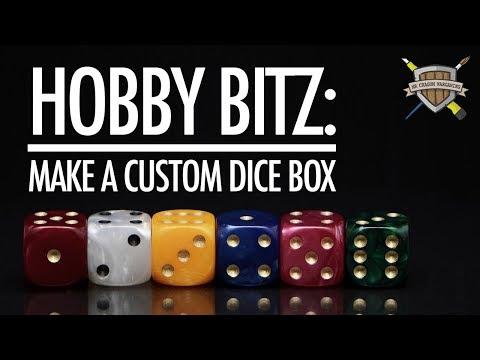 Hobby Bitz: Make A Custom Dice Box