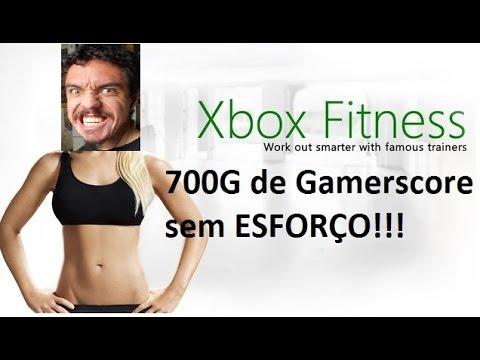 Como Fazer 700G Sem Suar no Xbox Fitness Xbox One Kinect Conquistas